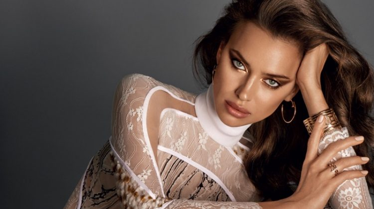Irina Shayk Wears Fall's Best Makeup Looks for Glamour Russia