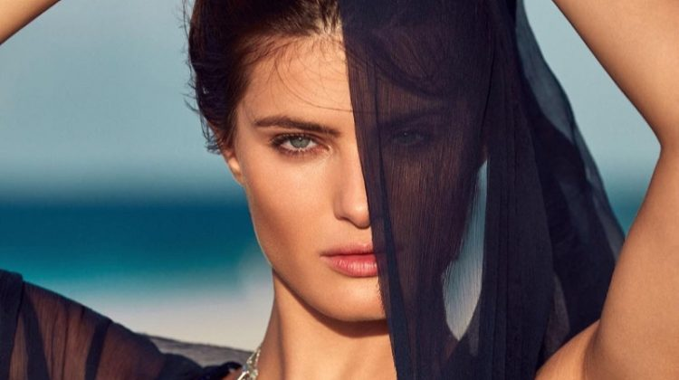 Isabeli Fontana Wows in Jewel Tones for Marie Claire Brazil
