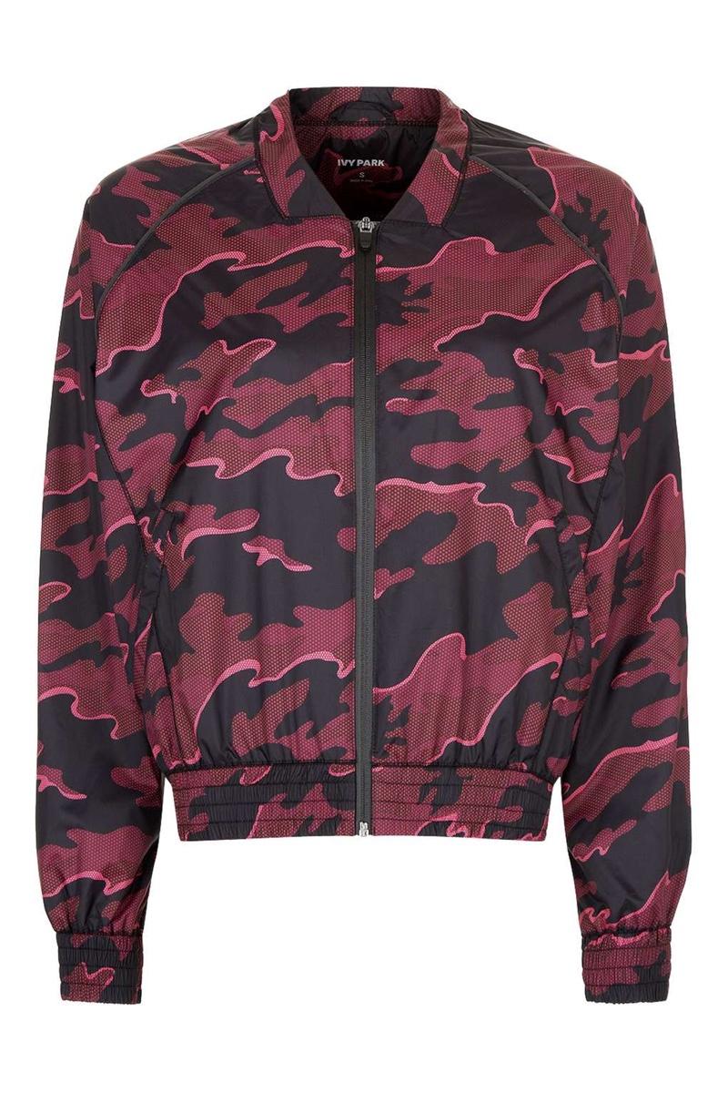 Ivy Park Camo Print Bomber Jacket