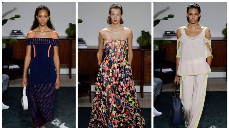 Jason Wu Focuses on Florals & Wool for Spring '17