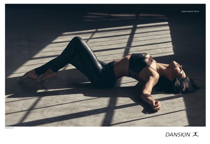 Jenna Dewan Tatum channels Flash Dance in Danskin campaign