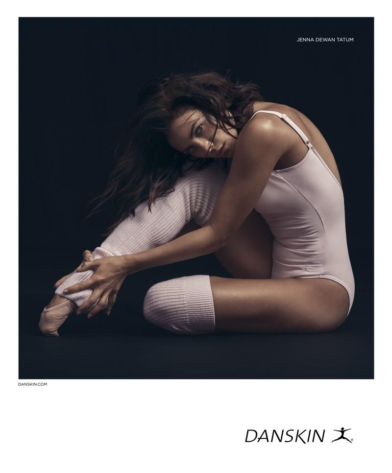 Jenna Dewan is the new face of activewear and dancewear brand Danskin