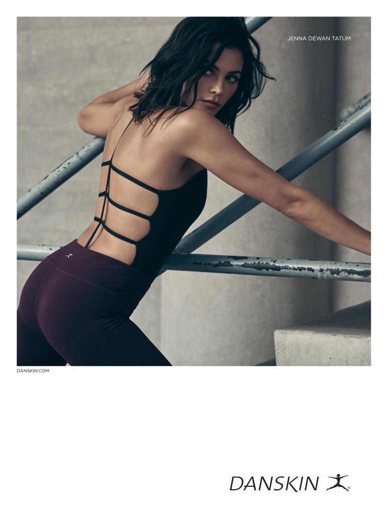 Jenna Dewan Tatum flaunts her trim figure in Danskin campaign
