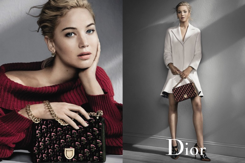 Jennifer Lawrence stars in Dior's fall 2016 campaign