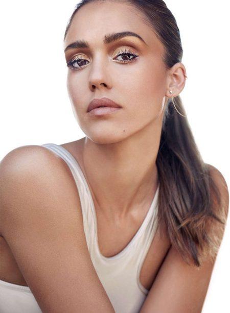 Jessica Alba Wears Honest Beauty Looks for Shape Magazine