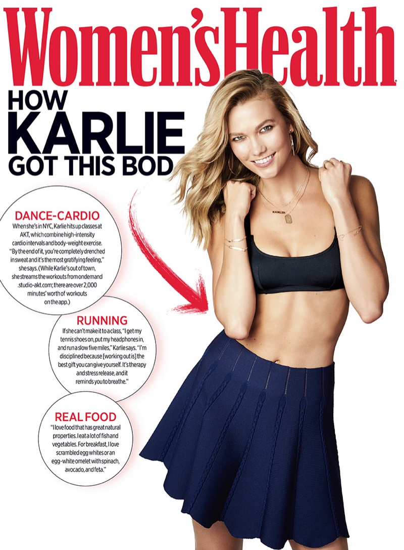 Karlie Kloss flaunts her toned body in the photoshoot