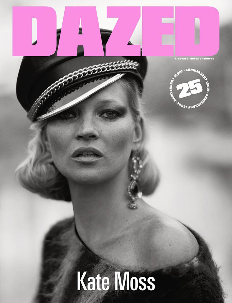 Kate Moss on Dazed Magazine fall-winter 2016 cover