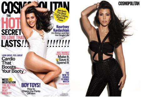 Kourtney Kardashian Covers Cosmopolitan, Talks Relationship with Scott Disick
