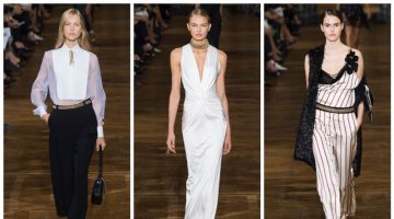Lanvin Focuses on Elegant Ease for Spring 2017