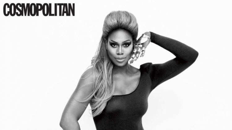Laverne Cox Channels Beyoncé, Tina Turner for Cosmopolitan Shoot