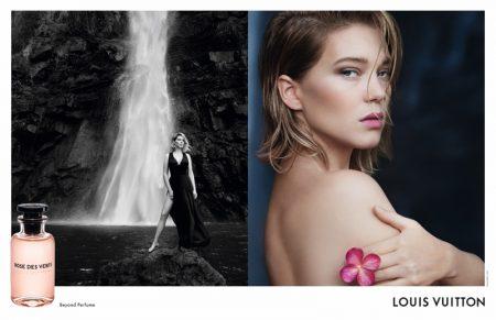 Léa Seydoux Stuns in Louis Vuitton Fragrance Ad