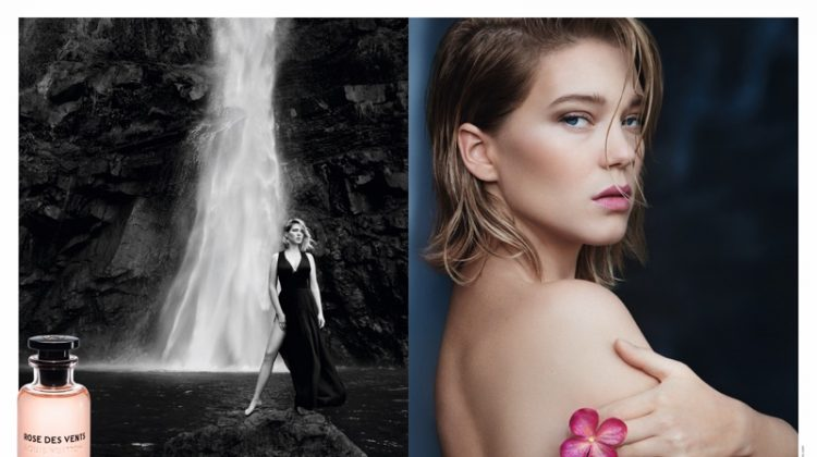 Léa Seydoux Stuns in Louis Vuitton Fragrance Ad