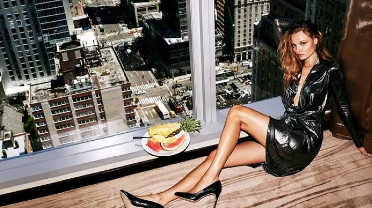 Magdalena Frackowiak Lives the High Life in Mohito Campaign