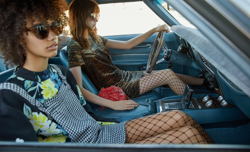 Mango features short dresses in October 2016 campaign
