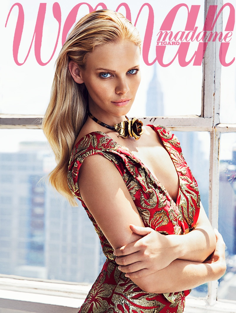 Marloes Horst on Woman Spain October 2016 Cover
