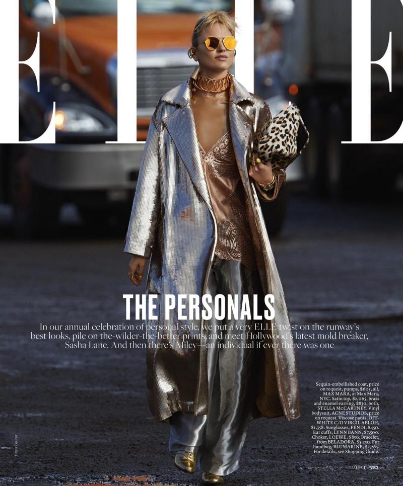 Martha Hunt stars in ELLE's October issue