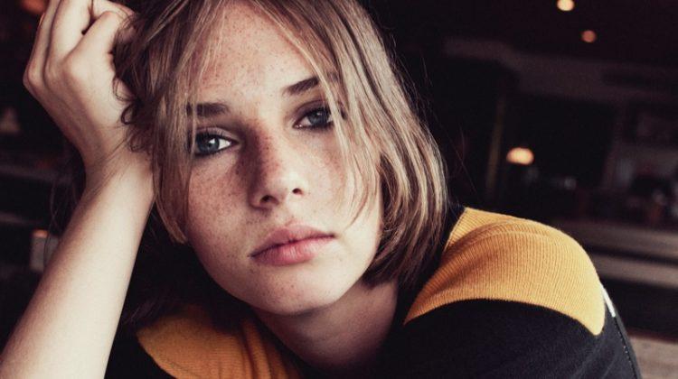 Uma Thurman's Daughter, Maya Hawke, Fronts AllSaints Campaign