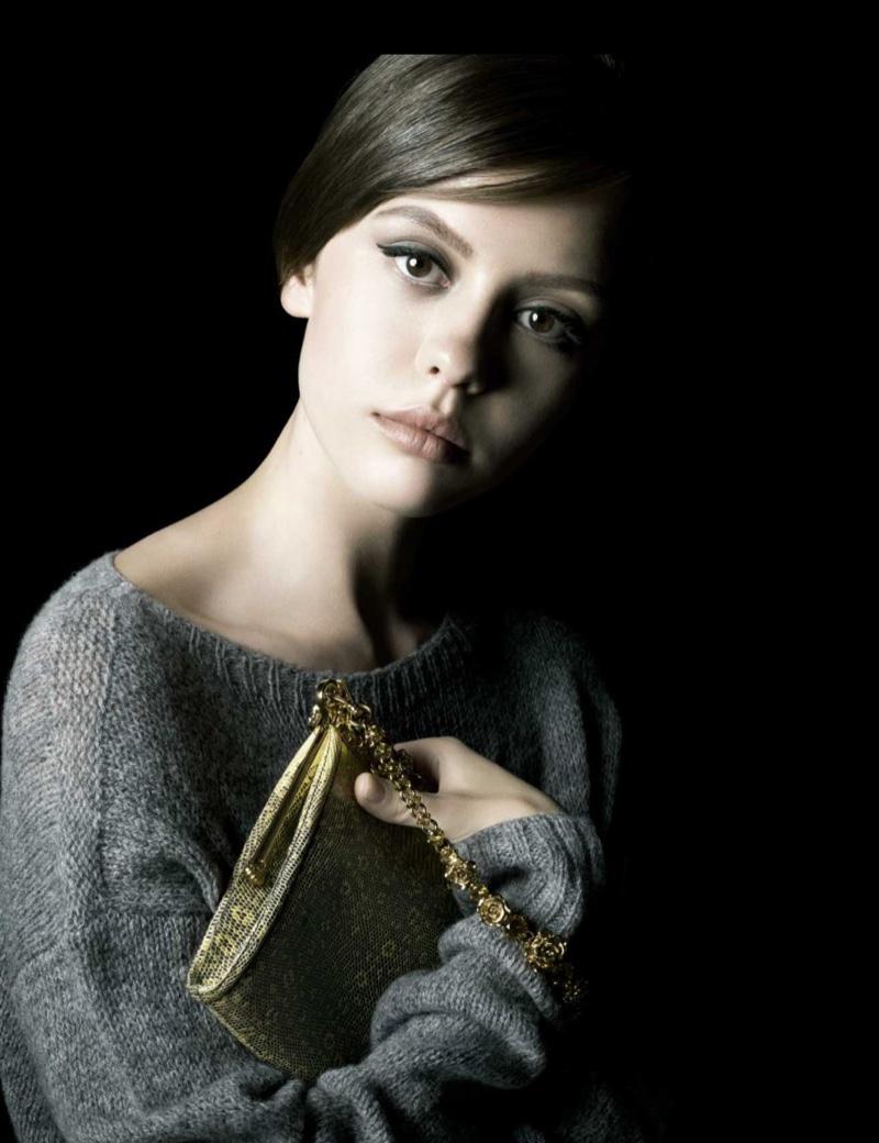 Mia Goth stars in Prada's La Femme perfume campaign