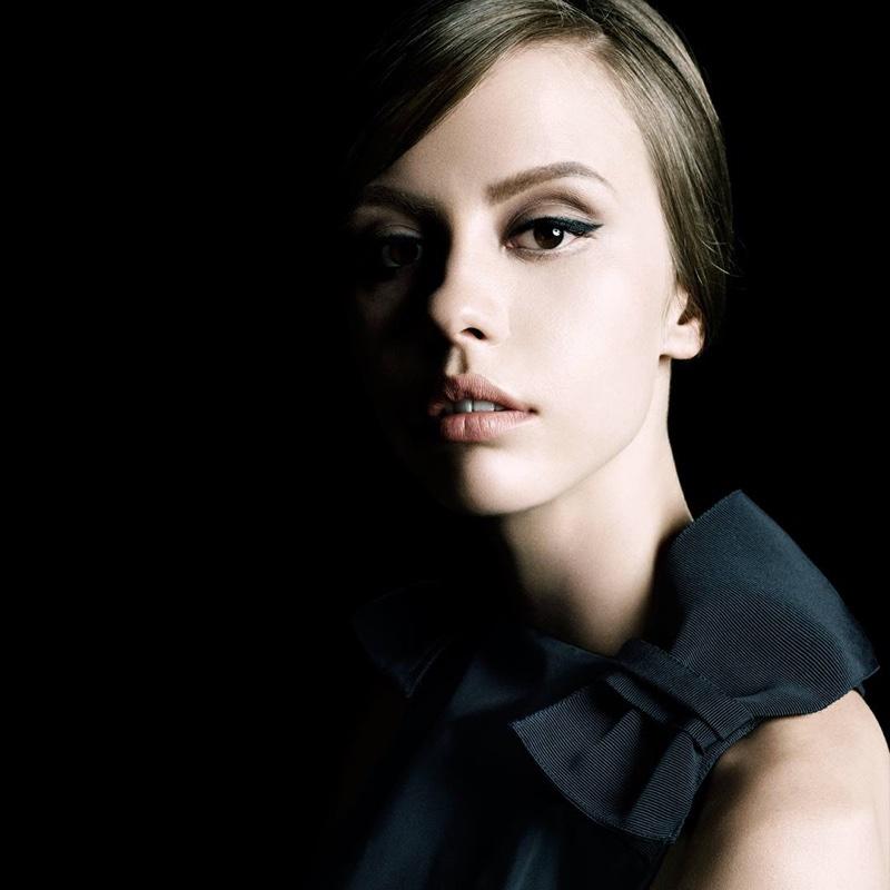 Steven Meisel photographs Mia Goth for Prada La Femme