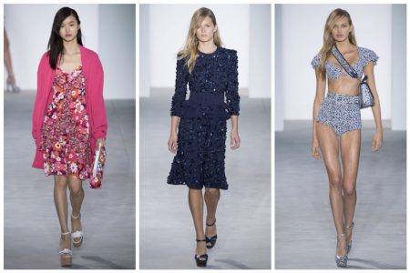 Michael Kors Brings on the Blooms for Spring 2017