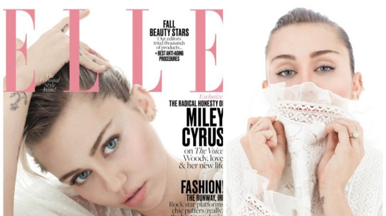 Miley Cyrus Stars in ELLE, Says She'll Never Do Another Red Carpet