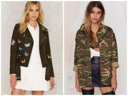 G.I. Jane: 8 Military Inspired Jackets from Nasty Gal