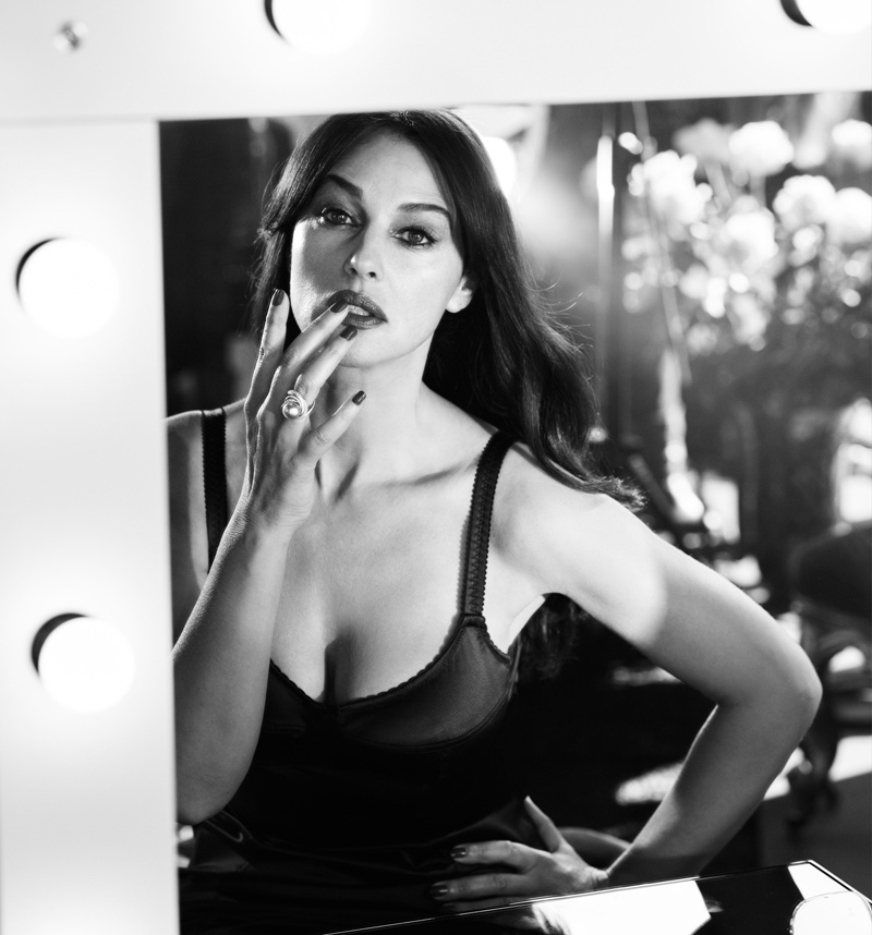 Monica Bellucci in 'Portraits Nudes Flowers' by Mariano Vivanco