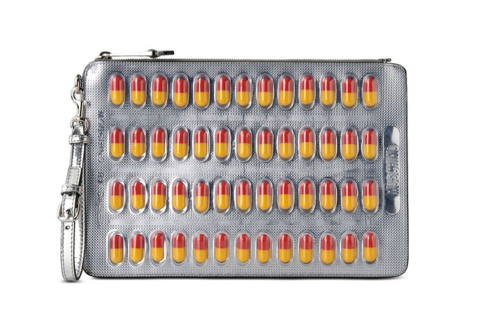 Moschino Pill Clutch