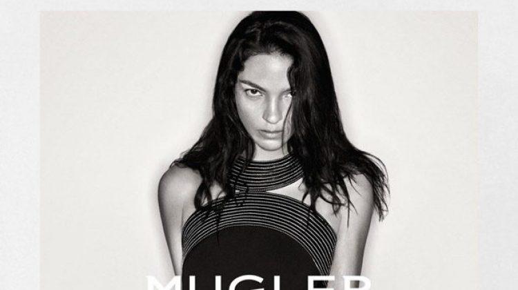 Mariacarla Boscono Smolders in Mugler's Fall 2016 Campaign
