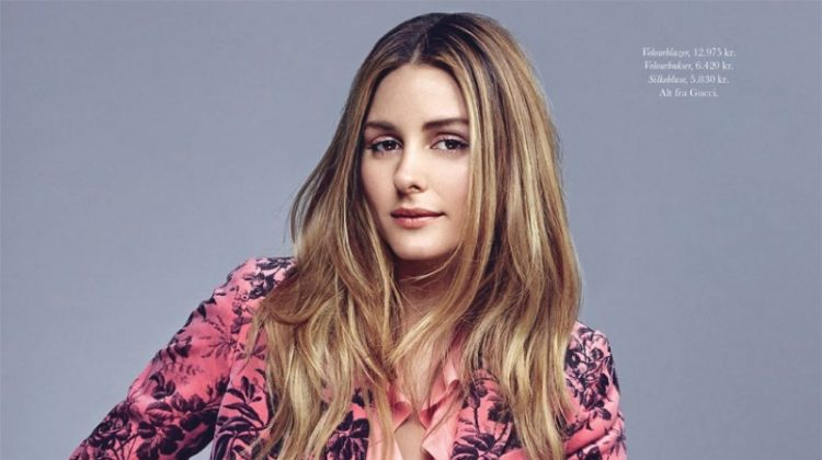 Olivia Palermo Suits Up for ELLE Denmark Cover Shoot
