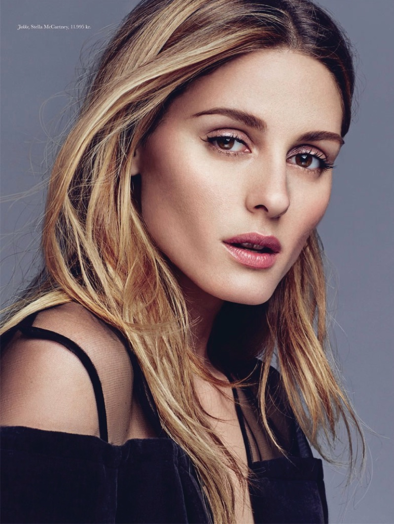 Olivia Palermo gets her closeup with tousled tresses