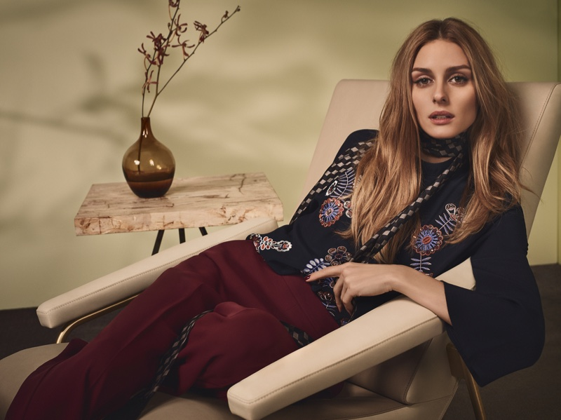 Olivia Palermo Looks Bohemian Luxe in MAX&Co.