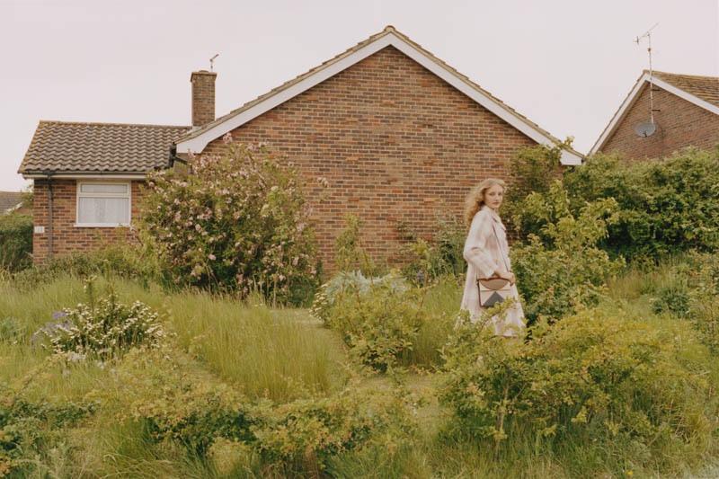 Model Agnes Nieske Abma stars in Orla Kiely's fall 2016 campaign
