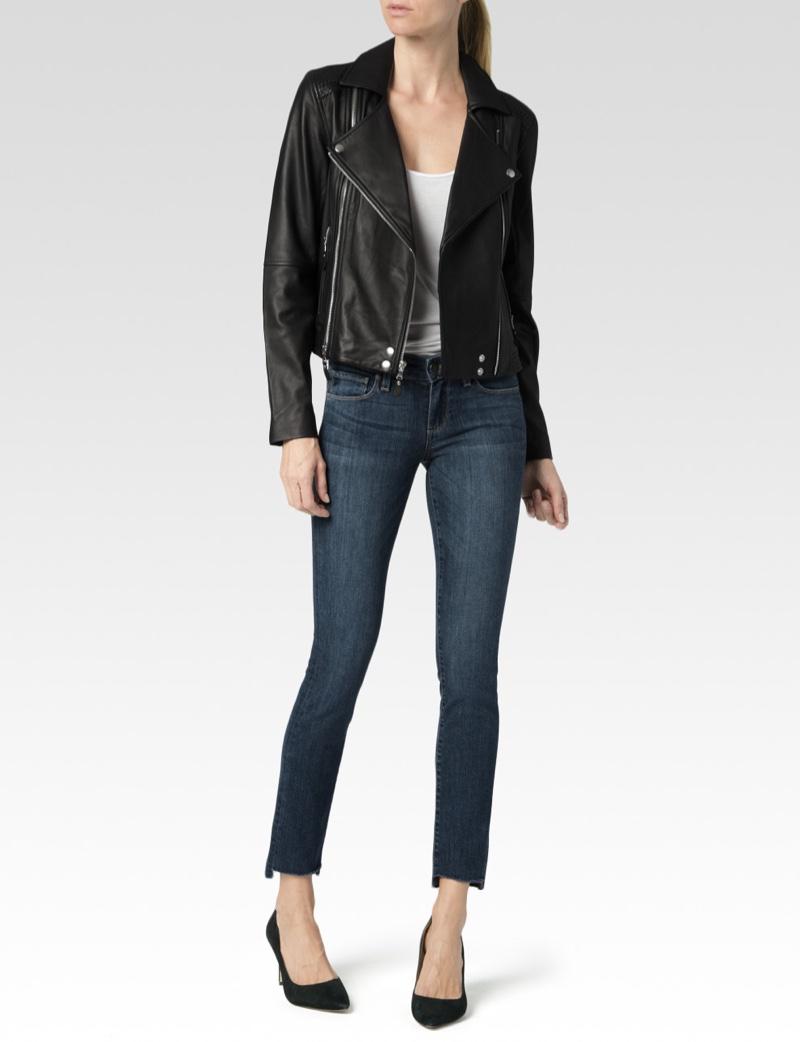Paige Denim Roanna Leather Jacket