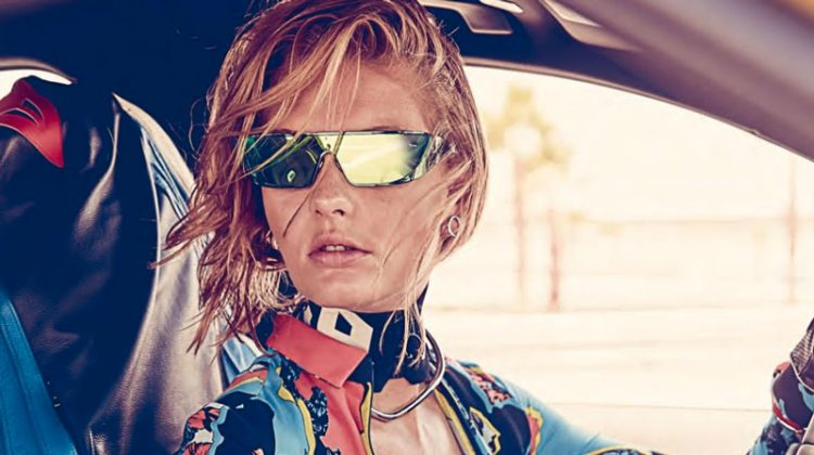 Patricia van der Vliet is Ready to Ride in ELLE Canada Editorial