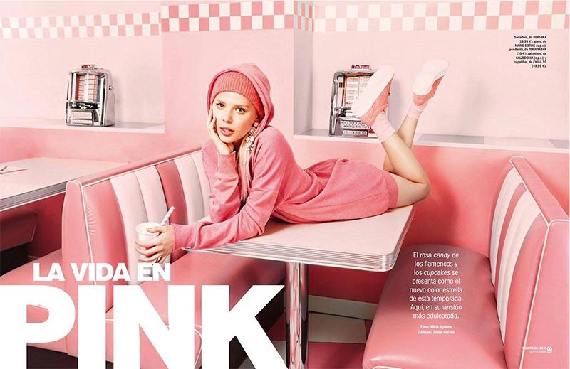 Katty Trost stars in Cosmopolitan Spain's September issue