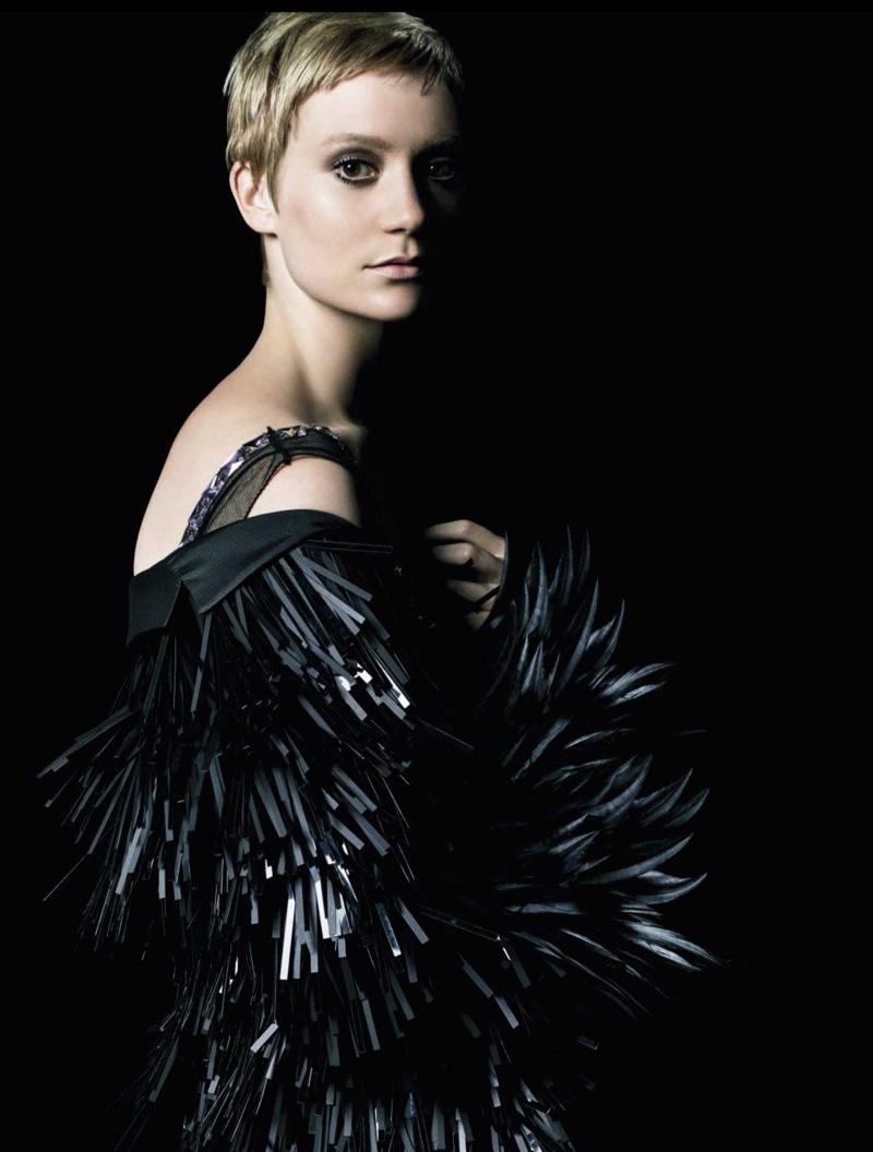 Mia Wasikowska stars in Prada's La Femme perfume campaign