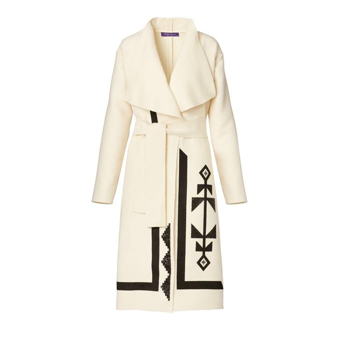 Ralph Lauren Collection Sherman Wool Cashmere Coat