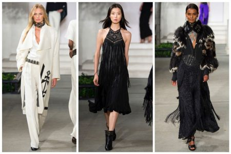 Ralph Lauren Goes West for Fall Show