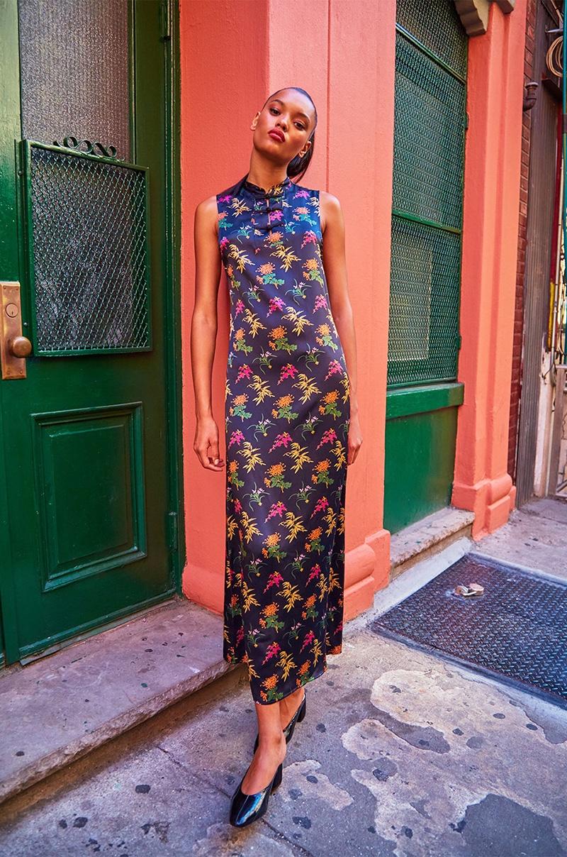Reformation Peejay Dress in Far East