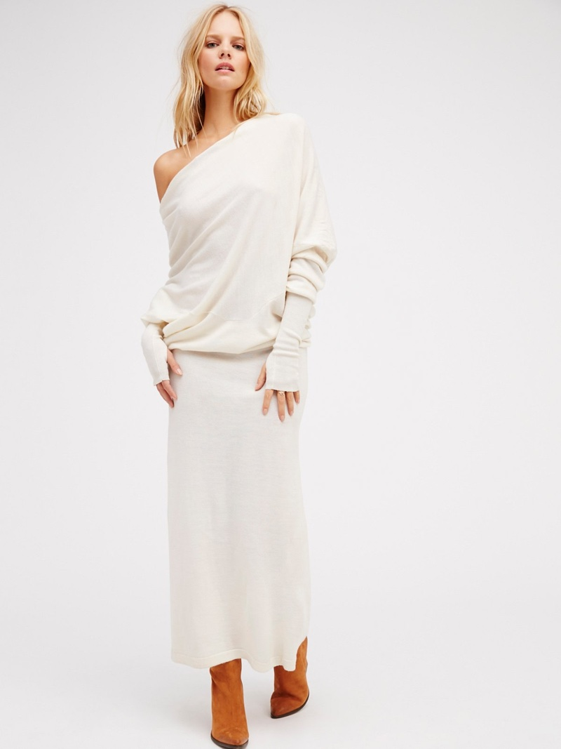 91859b29c5 Nicholas K Reversible Long Sweater Dress
