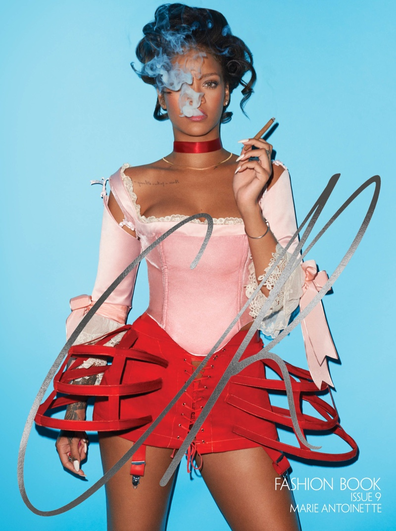 Rihanna on CR Fashion Book #9 Fall/Winter 2016 Cover