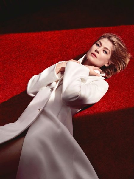Rosamund Pike Looks as Elegant as Ever in Dior Magazine