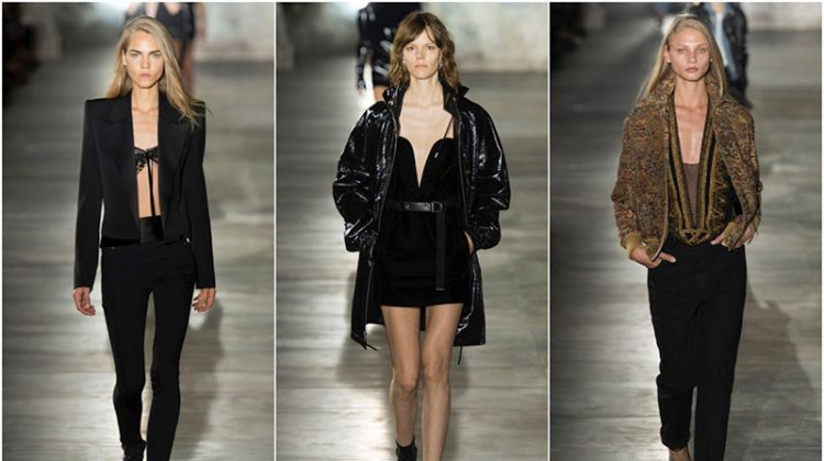Saint Laurent Turns Up the Sex Appeal for Spring 2017