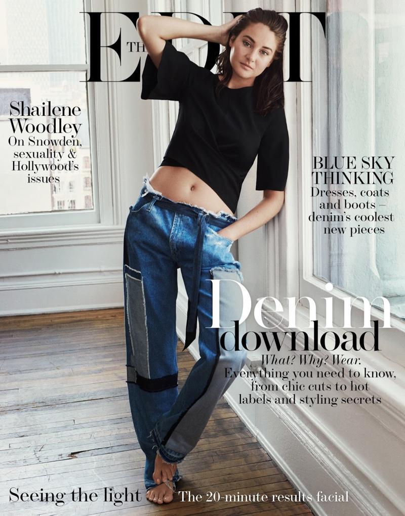 Shailene Woodley on The Edit September 15, 2016 Cover