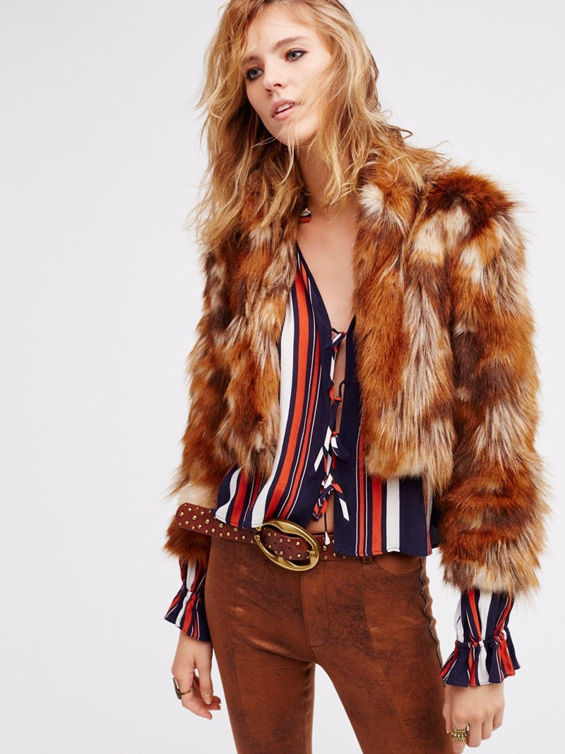 Spell & the Gypsy Collective Nomad Faux Fur Jacket
