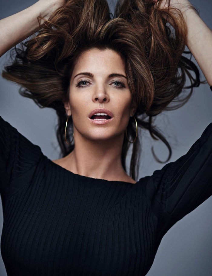 Supermodel Stephanie Seymour looks pure glamazon in the editorial