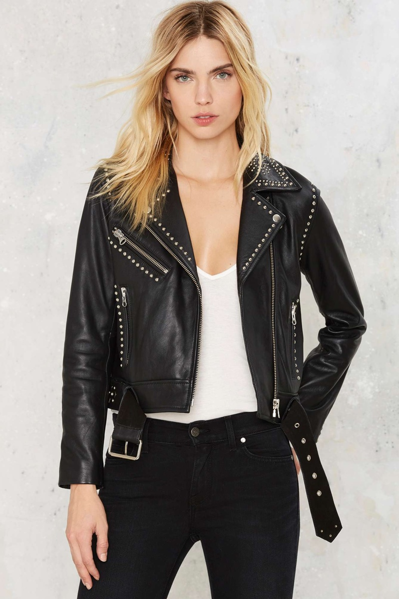 Leather Jackets Biker Chic Trend Fall 2016 Shop
