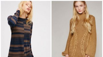 Cover Up in One of These Cozy Sweater Dresses