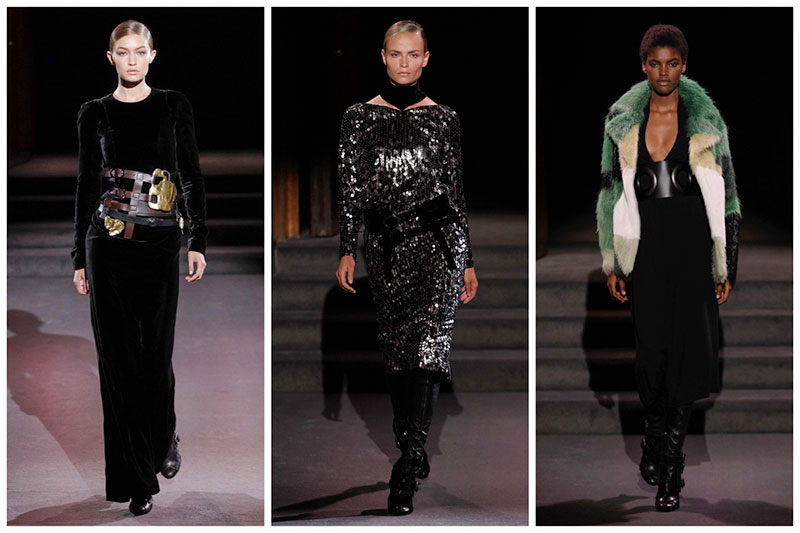 Tom Ford Showcases 70's Glam for Fall Runway Show